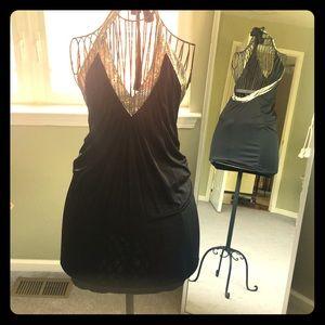 BCBGMAXAZRIA black short dress